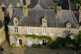 29 Locronan (Plus beaux villages de France) place de l eglise, hotel de la Compagnie des Indes edifie en 1689