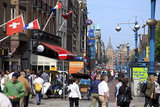 Europe - Pays-Bas - Amsterdam - Pays Bas - Netherlands - Centraal station - Dam - centre ville