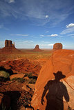 USA - Monument Valley - Arizona - Utah - Ameriques - Etats Unis - Amerique du Nord - Navajo Tribal Park - Mittens - Etats-Unis - United Sates of America