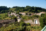 Vue panoramiquue du village