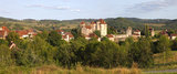 19 Vallee de la Dordogne, Curemonte (Plus Beaux Villages de France) les chateaux