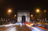 Arc de Triomphe, Champs Elysees, Paris, Ile-de-France, France