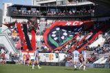 Tifo du match de rugby RCT - Toulon - France